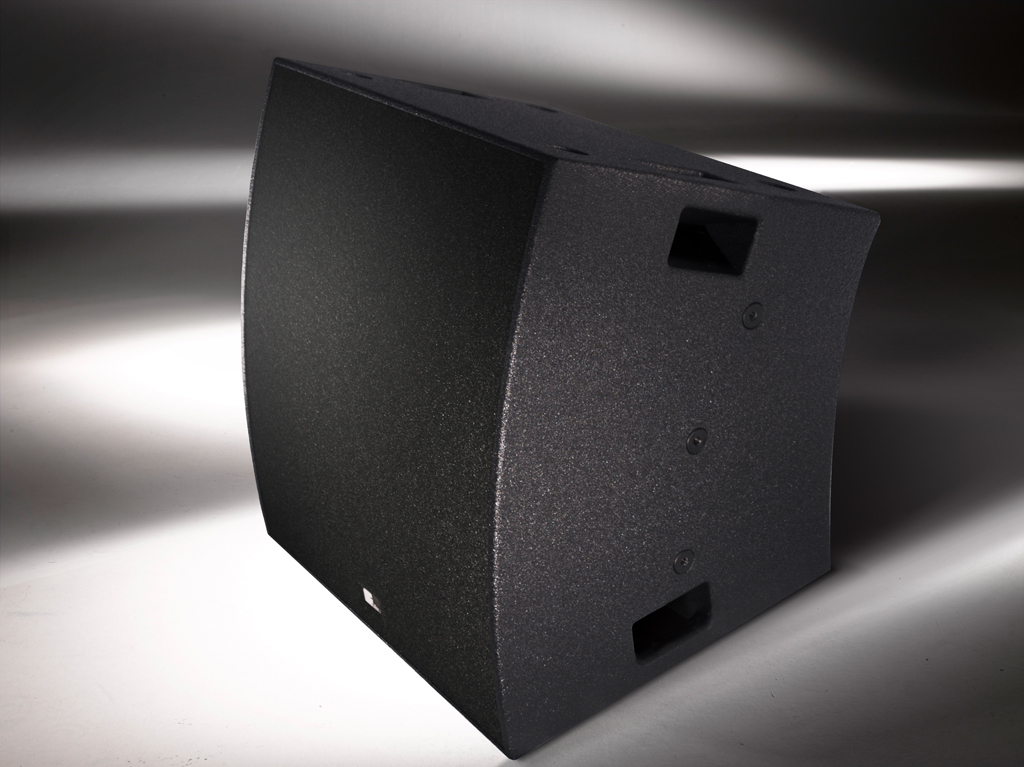 "Niet Meer Leverbaar - Fohhn, PT-6, WaveLine C. Line array unit, 6x6.5"" / 3x1.4"", two-way active/ biamp modes, black ** **"